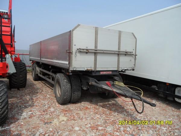 Ocazie Remorca auto de transport cereale