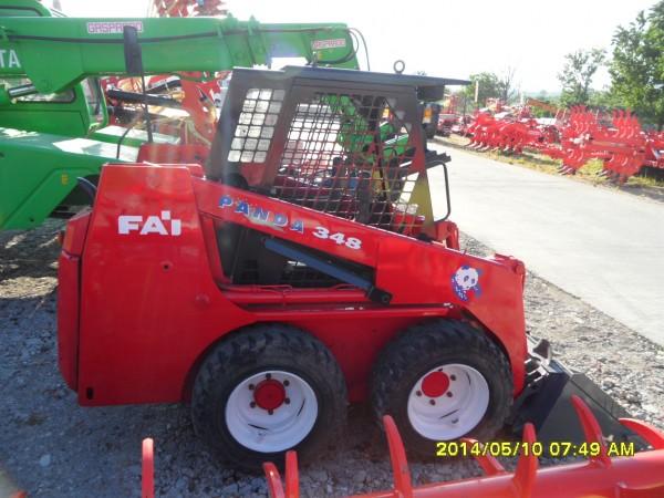 Mini excavator marca Fai Panda344