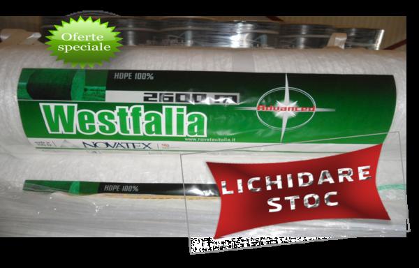 Plasa de legat baloti cilindrici HDPE100%  WESTFALIA