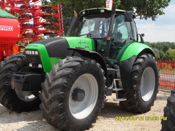 Tractor Deutz Fahr Agroton 210