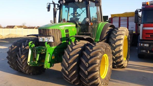 Roti duble, roti tehnologice (inguste), pentru tractor