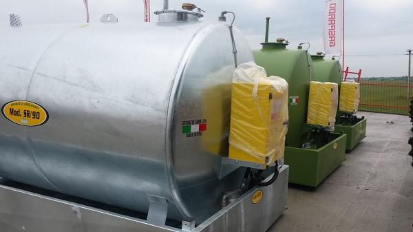 NOU Rezervor  ZINCAT  de combustil 9000 litri